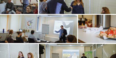 Фото и видео отчет с мастер-класса Павла Шевелева «Как побеждать лень и достигать своих целей»
