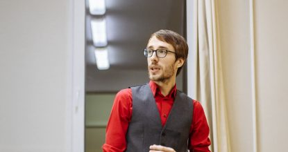 Фотоотчет тренинга «Презентация себя и бизнеса» Дмитрия Смирнова (7.2.17)