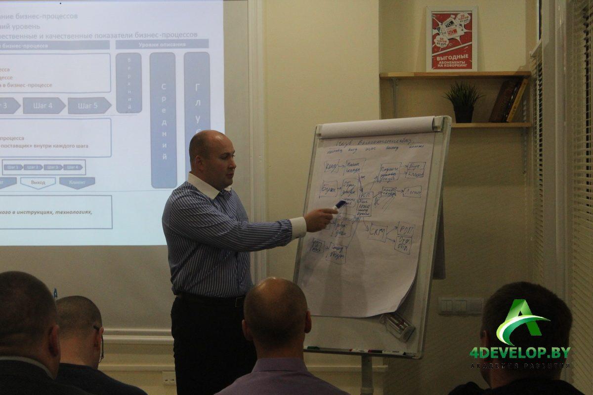 Бизнес-процессы мастер-класс Алексея Долгова 3